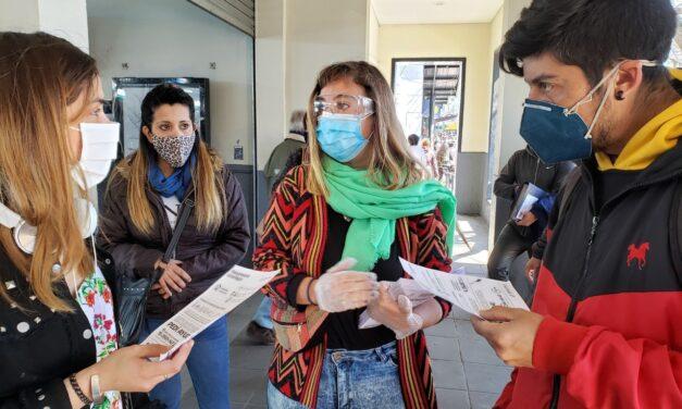 OPERATIVO PARA ANALIZAR SEROPREVALENCIA DE COVID-19 EN ESTACIONES DE TREN DE BERAZATEGUI