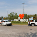 BERAZATEGUI TUVO SU 'CARAVANA DE LA LEALTAD'