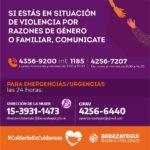 NUEVA LÍNEA PARA DENUNCIAR VIOLENCIA DE GÉNERO O FAMILIAR