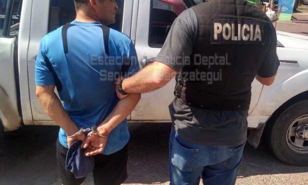 DETIENEN SUJETO POR VIOLENCIA DE GÉNERO Y ROBOS REITERADOS A SU EX PAREJA