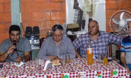 ARRÚA Y RAVELO EN CHARLA POLÍTICA EN EL PATO