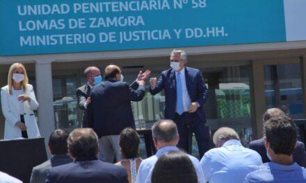 ALBERTO FERNÁNDEZ PRESENTÓ UN PLAN DE OBRAS PARA LAS CÁRCELES DE LA PROVINCIA