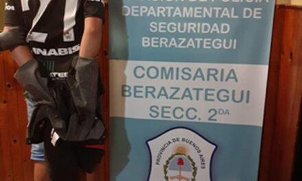 DETIENEN 'ROBACABLES' EN BARRIO '20 DE JUNIO'