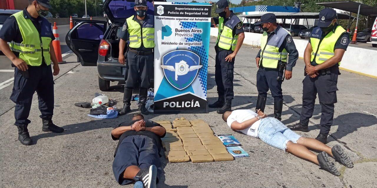 SECUESTRAN 30 KILOS DE DROGA EN JUAN M. GUTIÉRREZ