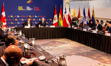 ARGENTINA SE RETIRA DEL 'GRUPO LIMA' QUE DENUNCIA LA DICTADURA DE MADURO EN VENEZUELA