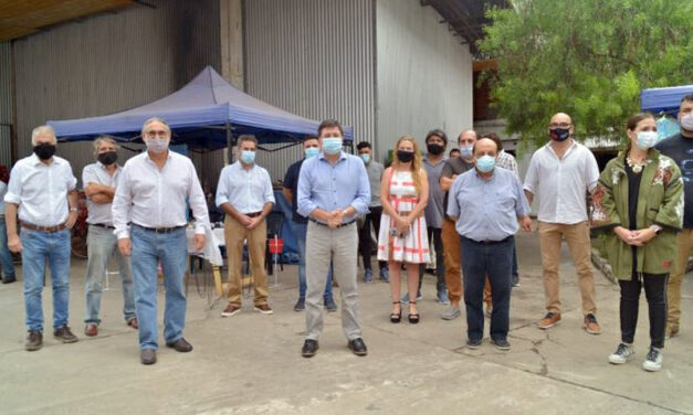 BASTERRA, ARROYO Y MUSSI RECORRIERON FERIAS ITINERANTES EN BERAZATEGUI