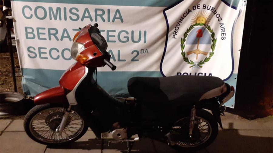 POLICIA LOCAL DETIENE «MOTOCHORROS»