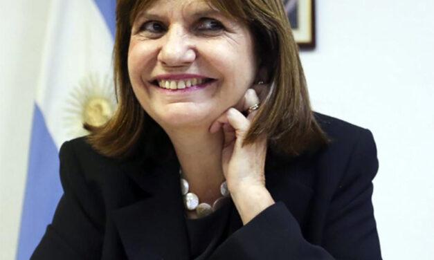 BULLRICH SALIÓ A LA CANCHA CON TODO