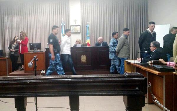 CONFIRMAN CONDENAS A BARRAS DE BERAZATEGUI POR HOMICIDIO