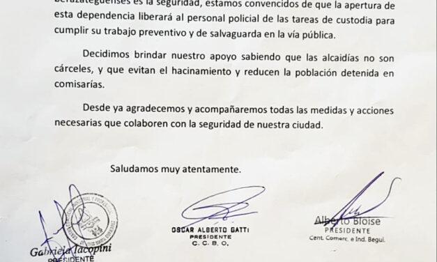 UNIÓN DE INSTITUCIONES APOYAN CONSTRUCCIÓN DE ALCAIDÍA EN BERAZATEGUI
