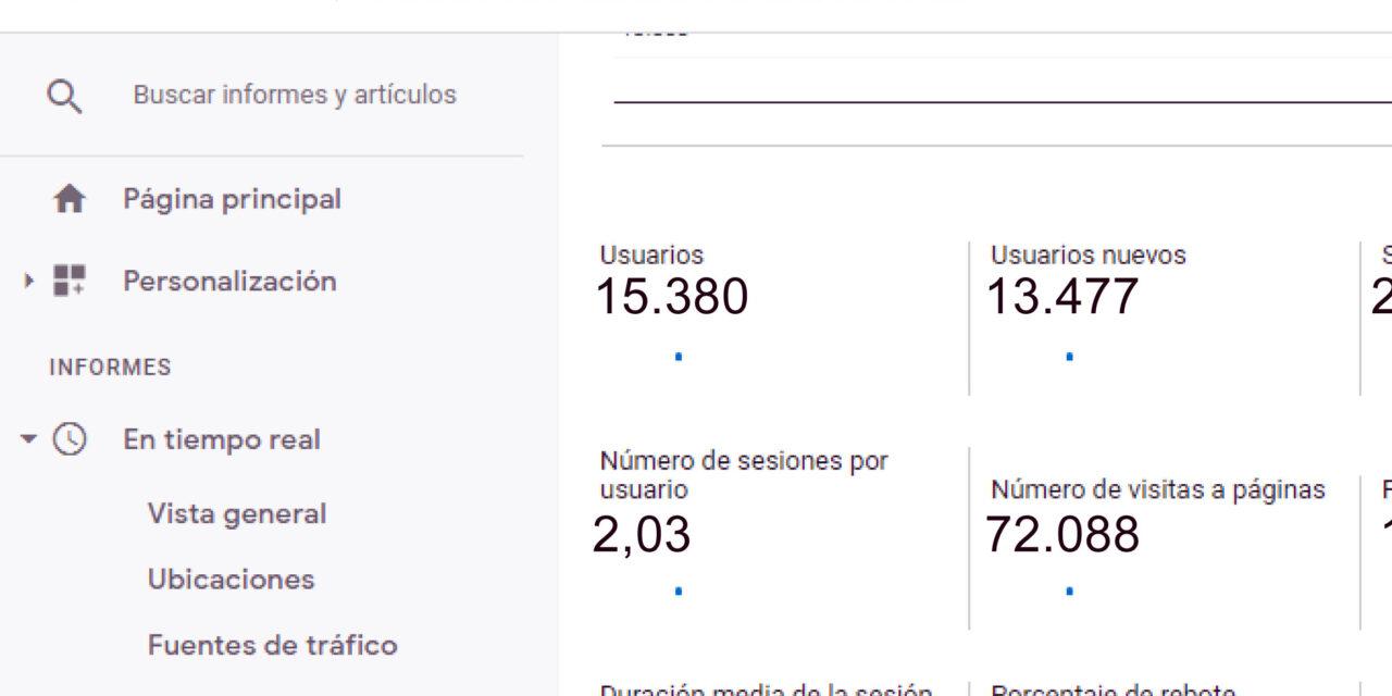 FIRMES JUNTO A NUESTROS LECTORES: 72.000 VISITAS EN MAYO
