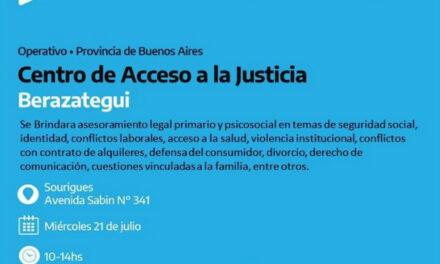OPERATIVO 'ACCESO A LA JUSTICIA' EN SOURIGUES