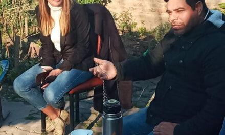 RAVELO Y PATERNO SIGUEN RECORRIENDO BARRIOS