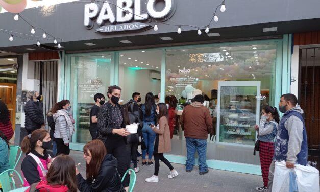 'HELADERÍAS PABLO' ABRIÓ NUEVO LOCAL EN AV. 14 DE BERAZATEGUI